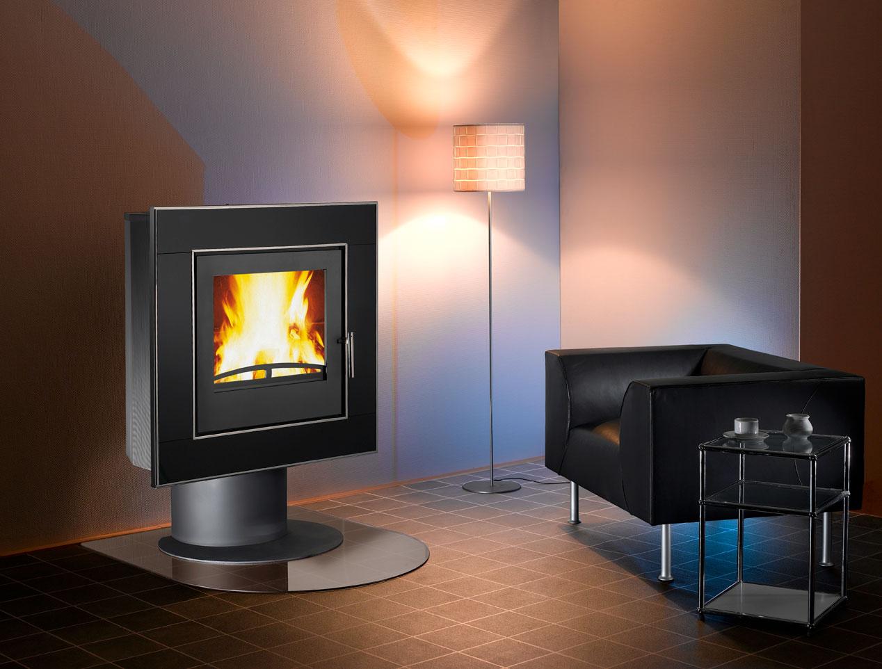 wamsler kaminofen vision glas pregler heizungsbau. Black Bedroom Furniture Sets. Home Design Ideas